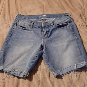 Old Navy Stretch Jean Shorts
